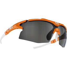 Bliz Tempo M12 Brille, orange/smoke with silver mirror